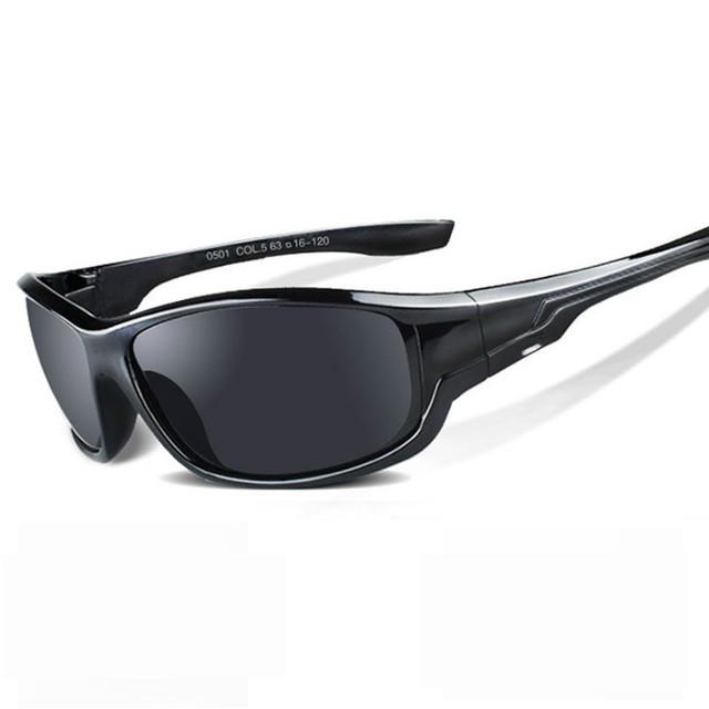 Ywjanp Sunglasses Men Polarized Sport Fishing Sun Glasses For Men Driving Goggle Fishing Eyewear Night vision Glasses Gafas
