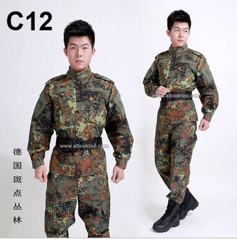 German flecktarn camo military uniform camouflage suit paintball army fatigues clothing combat pants tactical jacket.jpg 350x350