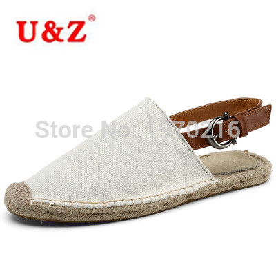 ФОТО Cool yet Functional Camouflage Canvas Espadrilles Shoes Men Loafers Summer,Brand Male Linen breathable Casual sandals slilppers