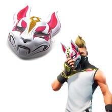 Halloween Plastic Cartton Fox Drift Mask Costume Fortnite Mask Hot Sale wholesale 100pcs/lot