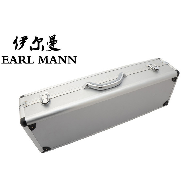 Aluminium Alloy Hard Case For Split Soprano Saxophone Musical Instruments High Box Special-purpose Sax Saxe Accessories soprano saxophone bb curved sax high f with case the blue silver keycopper simulati copper simulation soprano saxophone