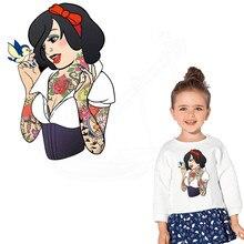 2 шт./лот; одежда в европейском стиле; красивая одежда принцессы; футболка с капюшоном; Одежда для девочек; нашивки; термоклеи