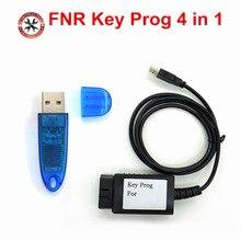 Le plus récent programmeur de clé FNR 4 en 1 USB Dongle programmation de véhicule pour f ord/re nault/Nis san FNR clé Prog 4 en 1 par clé vierge