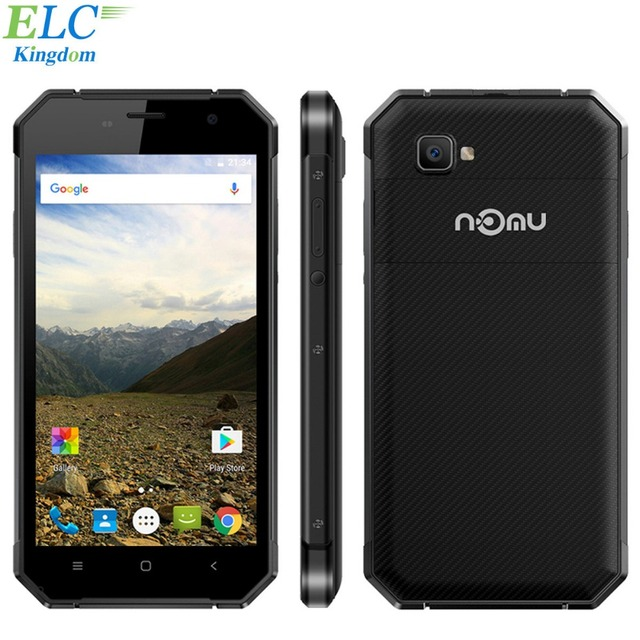 Newest Nomu S30 5.5 inch 4G LTE Mobile Phone Android 6.0 MTK6755 Octa Core 5000mAh 4GB RAM 64GB ROM FHD Waterproof Smartphone