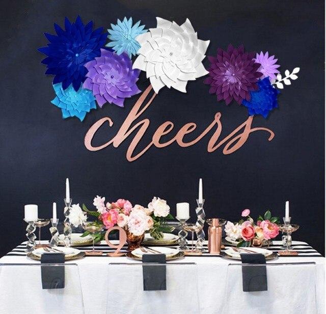 Aliexpress.com : Buy 40 cm 3D Paper flower Party Christmas Wedding ...