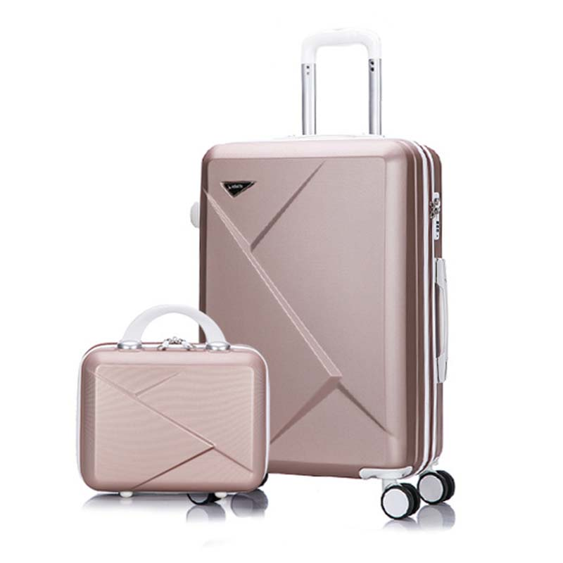 LeTrend toczenia walizki na bagaż Spinner studentów hasło walizka koła 20 cal koreańska wersja przenoszenia na torba podróżna na kółkach bagażnika w Walizki od Bagaże i torby na  Grupa 1