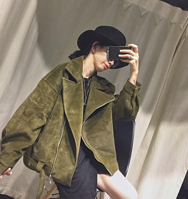 [XITAO] 2016 original design mulheres inverno quente jaqueta com zíper Coréia moda de rua vento feminino de todos os jogo casaco curto de espessura ASD001