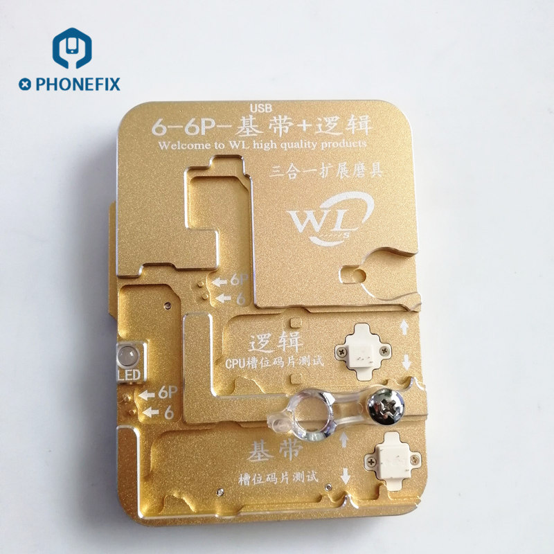WL Eeprom IC Programmer For IPhone 6 6S 7 Logic Baseband EEPROM Chip IC Test Fixture stay-in-place chip repair toolWL Eeprom IC Programmer For IPhone 6 6S 7 Logic Baseband EEPROM Chip IC Test Fixture stay-in-place chip repair tool