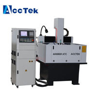 Cheap price mach3 cnc controller engraving and metal cutting machine model 4040 6060 6090 cnc router