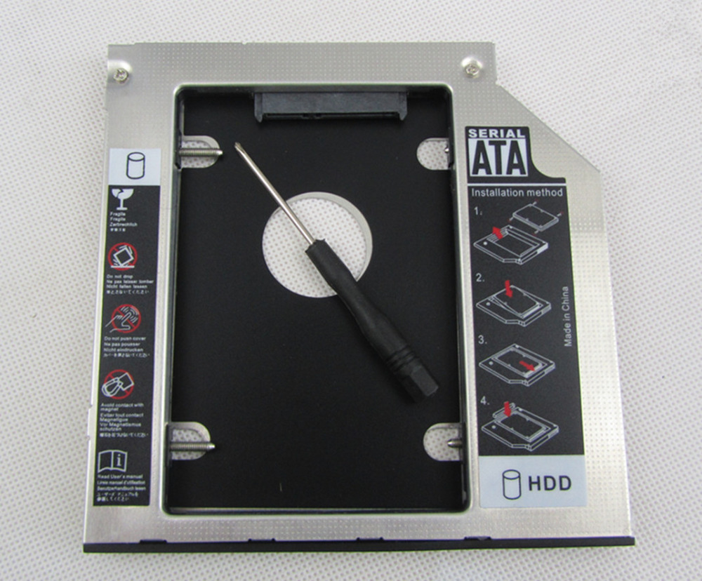 2ND HDD SSD Hard Drive Caddy Adapter for Dell Inspiron 15 3521 Swap DU-8A5HH DVD Free Shipping
