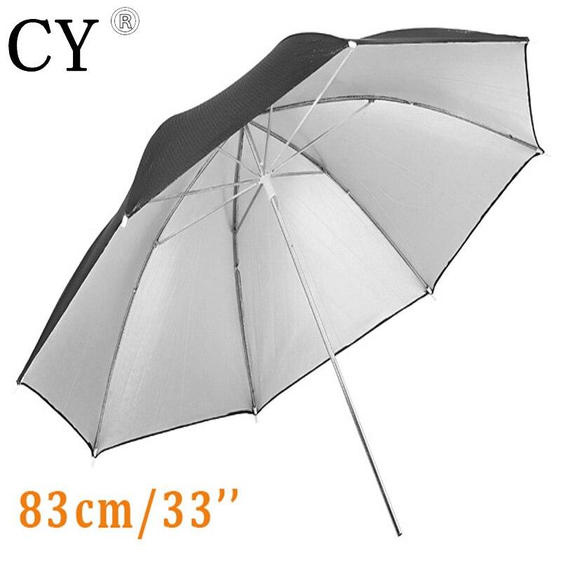 10 pcs 33/83cm Studio Black/Silver Reflector Umbrella studio umbrella reflector umbrella photography umbrella PSCU4A-10