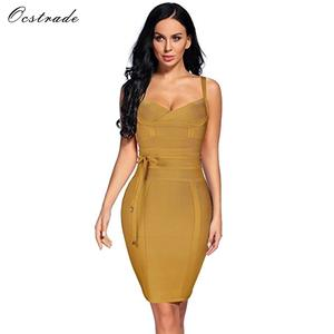 9d85065529 Ocstrade Women 2018 Summer Sexy Bodycon Bandage Dress Party