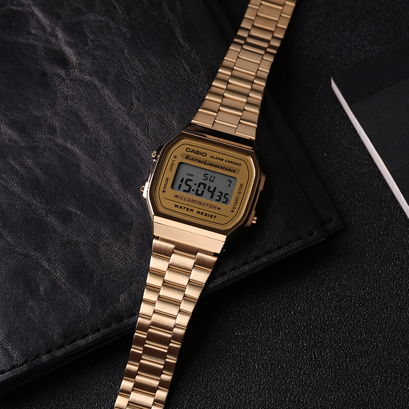 693f05d09cd Detail Feedback Questions about Casio watch man Casual electronic watch  A168WG 9W on Aliexpress.com