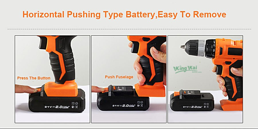 Cordless Lithium Battery Electric Drill-13