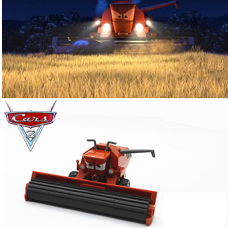 Disney Pixar Cars 2 3 Lightning Mcqueen Jackson Storm Harvester Frank Diecast Metal Alloy Toys Car For Children Birthday Gifts