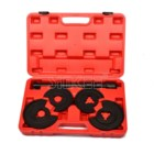 For Mercedes Benz 5pc Coil Spring Compressor Telescopic Repair Tool Kit Strut Tool W123 W124 W202 SK1076