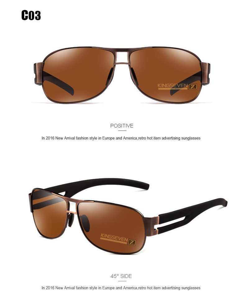 High Quality Alloy Polarized Sunglasses Men Vintage Male Sport Sun glasses Driving Google Eyewear Come with 6 Accessories K7806 8