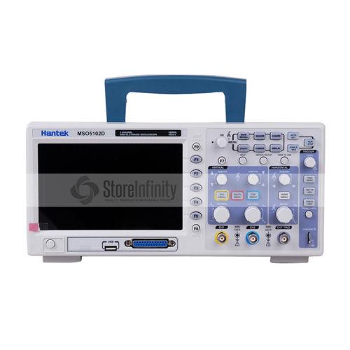 Hantek MSO5102D 100MHz 2 Ch 1GSa/s Oscilloscope 16Ch Logic Analyzer 2in1 цены