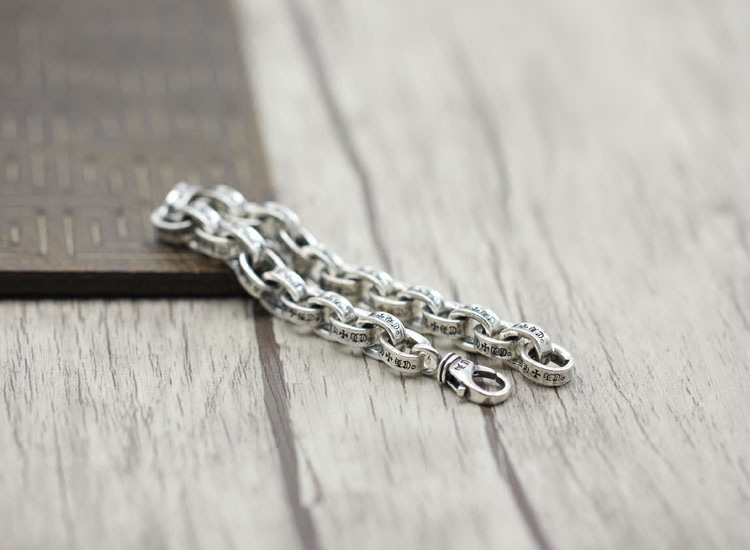 100% 925 en argent sterling hommes bracelet de luxe t hommes haute bijoux cadeau d'anniversaire homme homme 925 bracelet en argent sterling bracelet à breloques - 4