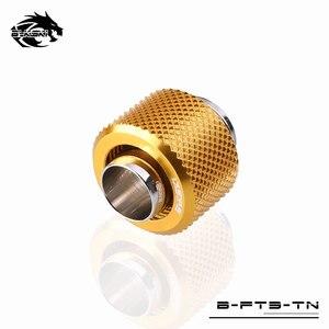 Image 2 - Bykski דוקרני צינור הולם, 3/8 גמיש צינור מחבר, יד Conpression 9.5X12.7mm מים צינור G1/4 שימוש B FT3 TN