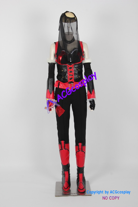 Harley Quinn cosplay costume from Batman Arkham City ACGcosplay