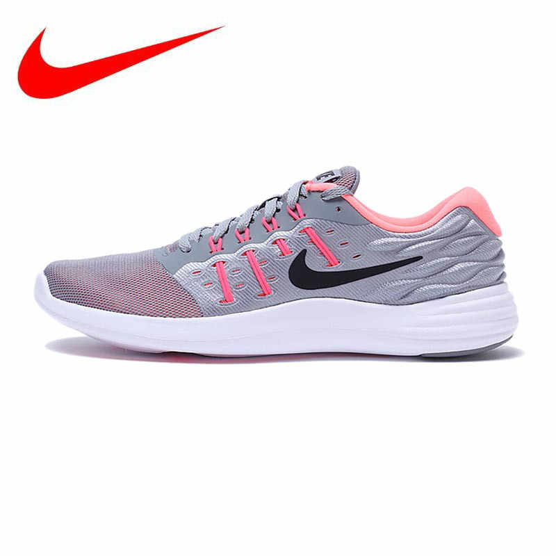 0b1a5fbf877a5 Original New Arrival Official NIKE Breathable LUNARSTELOS Breathable  Women s Running Shoes Sneakers Trainers
