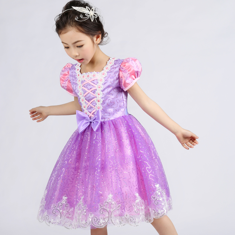 2016 Custom Glitz Cupcake Pageant Dresses Toddler Spaghetti Neck Beading Crystal Purple And White Bow Kids Prom Ball Gown