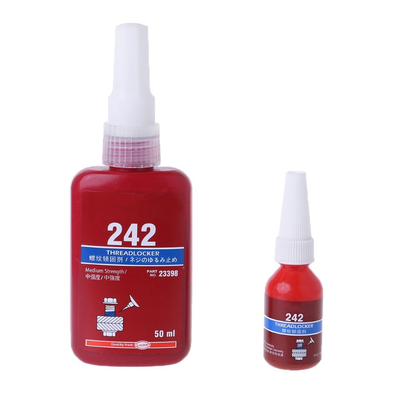 1pc 10ML/50ML 242 Thread Seal Lock Glue Screw Blue Anaerobic Adhesive