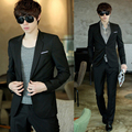 2017 new arrival terno masculino spring models suit, men Slim blazer career suits groom wedding dress suits