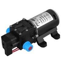 DC 12V 100W Micro Electric Diaphragm Water Pump Automatic Switch 8L Min High Pressure Car Washing