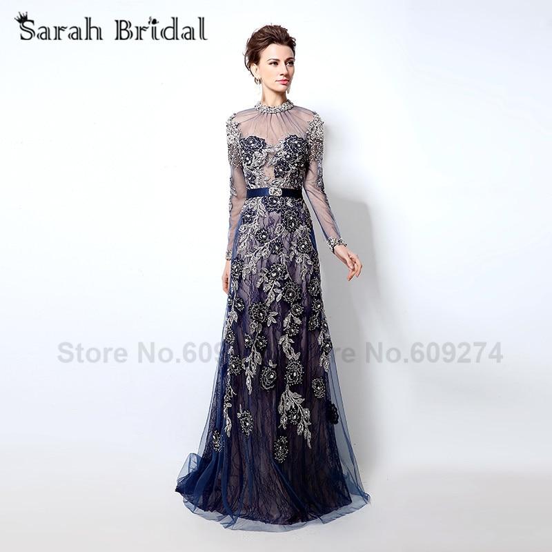 Online Get Cheap Long Sleeve Evening Gowns Dresses -Aliexpress.com ...