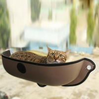 Cat Window Bed Pot Pet Hammock Mat Cat Lounger Perch Cushion Hanging Shelf Seat With Sunction Cup For Ferret Chinchilla 3