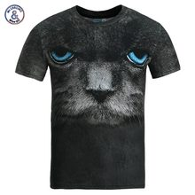 Black cat 3D t-shirt