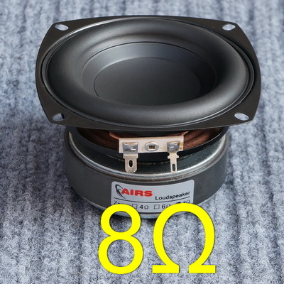 45ab176ef 1PC 4 inch Hi-Fi 8ohm Subwoofer Speaker Audio Super Bass Woofer Loudspeaker  40W High