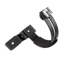 C-Shape Flash bracket for Canon Nikon Olympus Pentax DSLR Camera & Video Light LED light or flash Free Shipping(China)