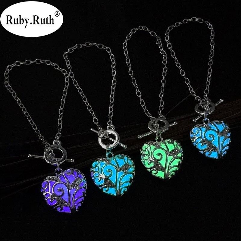 Fashion Women's stone shine moon Charm Luminous Bracelet Stone  fashion wholesale jewelry braceletS