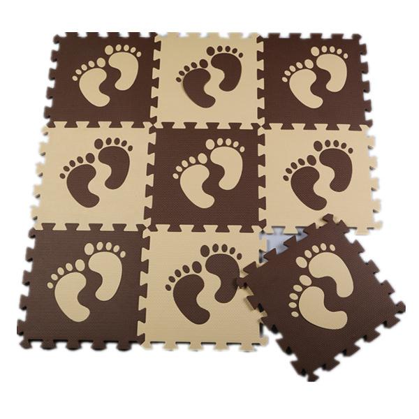Multicolor 9 pçs/lote Espuma de EVA Bloqueio Exercício Ginásio Piso tapetes de jogo do bebê de Proteção Revestimento Da Telha carpets32 * 32 cm