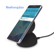 10W Fast Wireless Charger for Iphone X 8 8 PLUS Anti Slip Rubber quick Wireless Charging