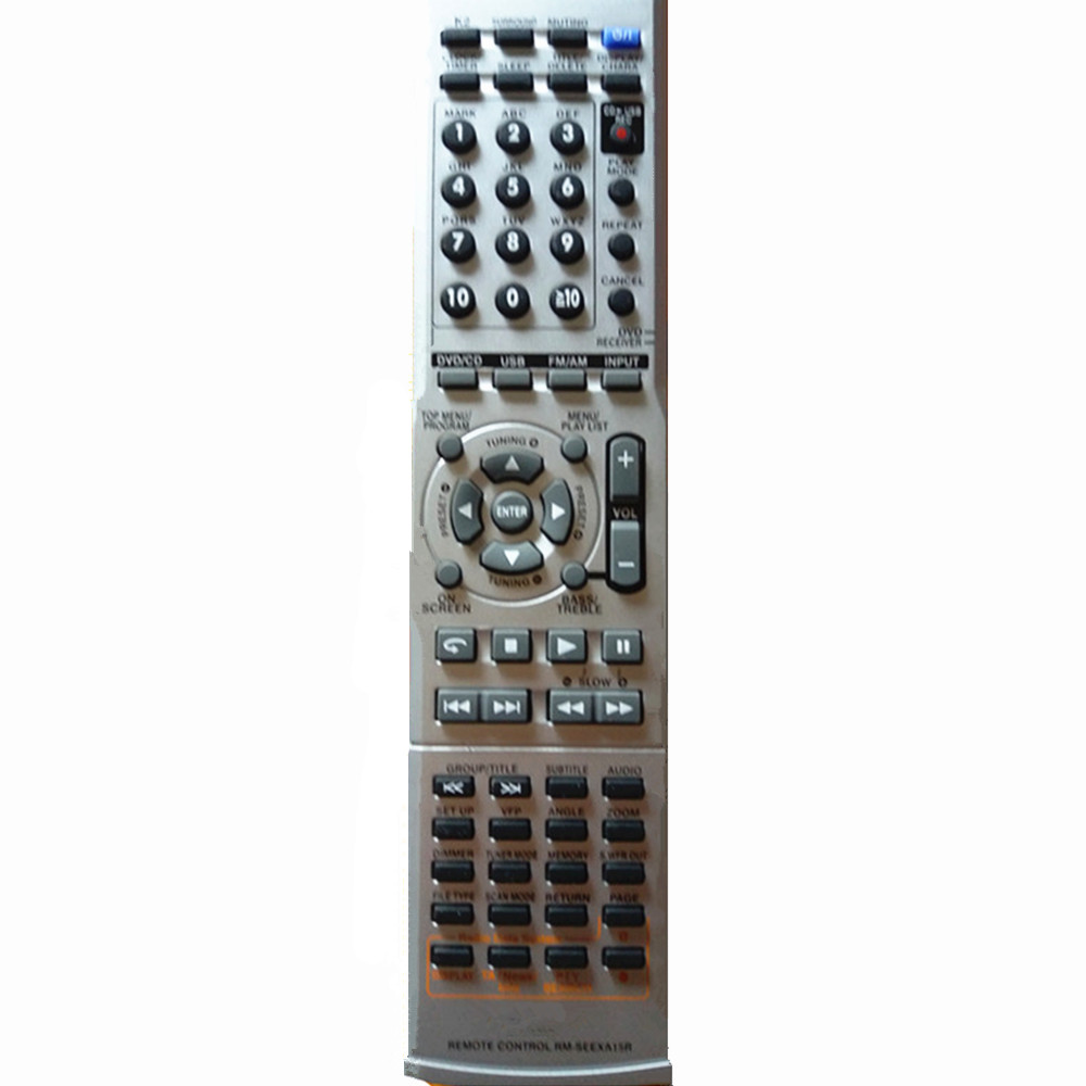 New remote control for JVC DVD mini Sound system player controller RM-SEEXA15R new remote control for lg blu ray dvd disc player remote control akb73615801 for bp220 bp320 bp125 bp200 bp325w
