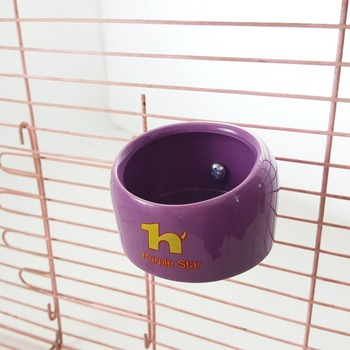 Parrot bird hamster squirrel ceramic food bowl can be fixed and fixed ceramic bowl