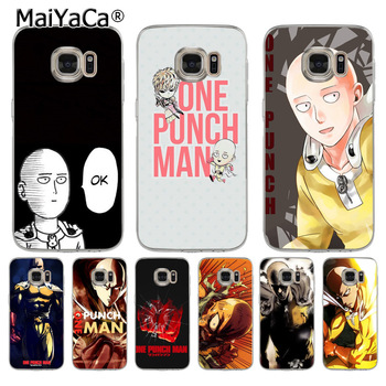 MaiYaCa One Punch Man Coque Shell Phone Case  for Samsung S5 S6 S7 Edge S8 Plus S6 Edge Plus S9 S9Plus