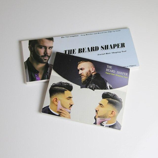Beard Comb The 2nd Generation Professional Beard Shaving Beard Styling Template Carding Tools Bearded Comb Brush For Men Shaving 1