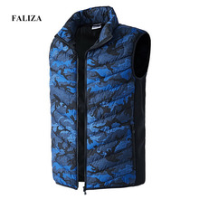 Sleeveless Jacket Clothing Waistcoat Heated-Vest Stretch Electric Warm Winter Camouflage