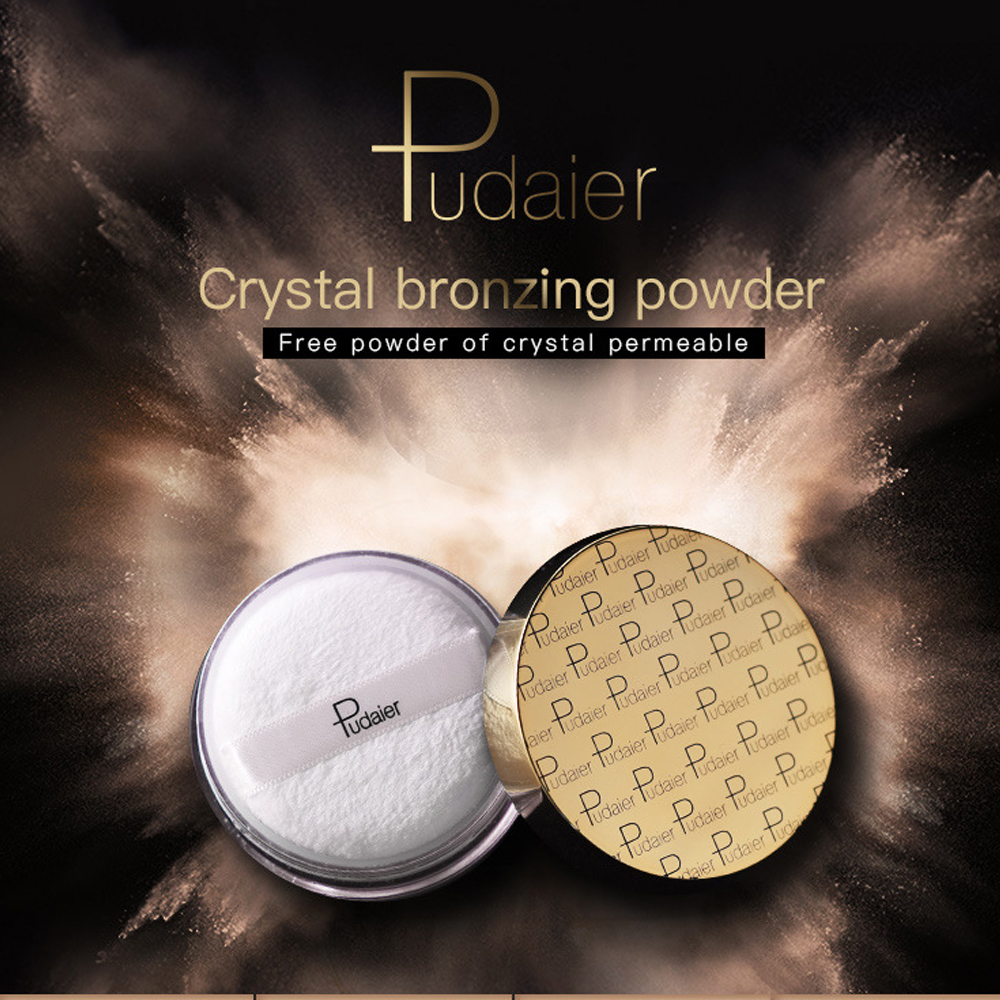 Pudaier Makeup loose high lighter Powder Mineral Matte Pearl Bronzing Powder Contour concerler Powder Highlighting Cosmetics image