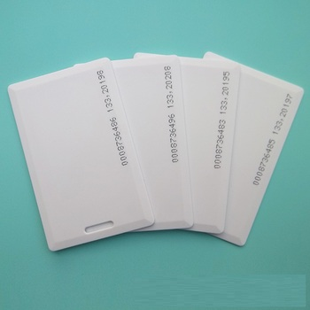 50pcs/lot 125khz RFID Clamshell Card Rewritable T5577 ID Thick Card For Writer Copier duplicator