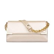 Trendy Striped Flap Bag 2016 New Luxury Noble Chain Bag Fashion Small Crossbody Bag Women Elegant