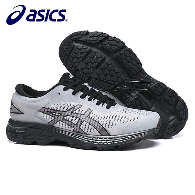 on sale be7e0 a2965 ASICS Gel Kayano 25 Original männer Turnschuhe Asics Mann der Laufschuhe  Atmungsaktive Sport-Schuhe Laufschuhe Gel Kayano trainer