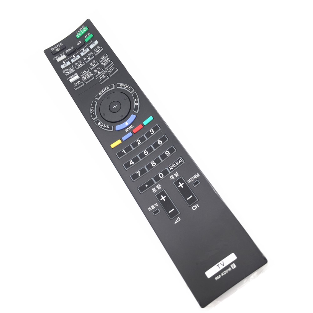 RM-KD016 For Sony 3D TV Remote Control Korea Language