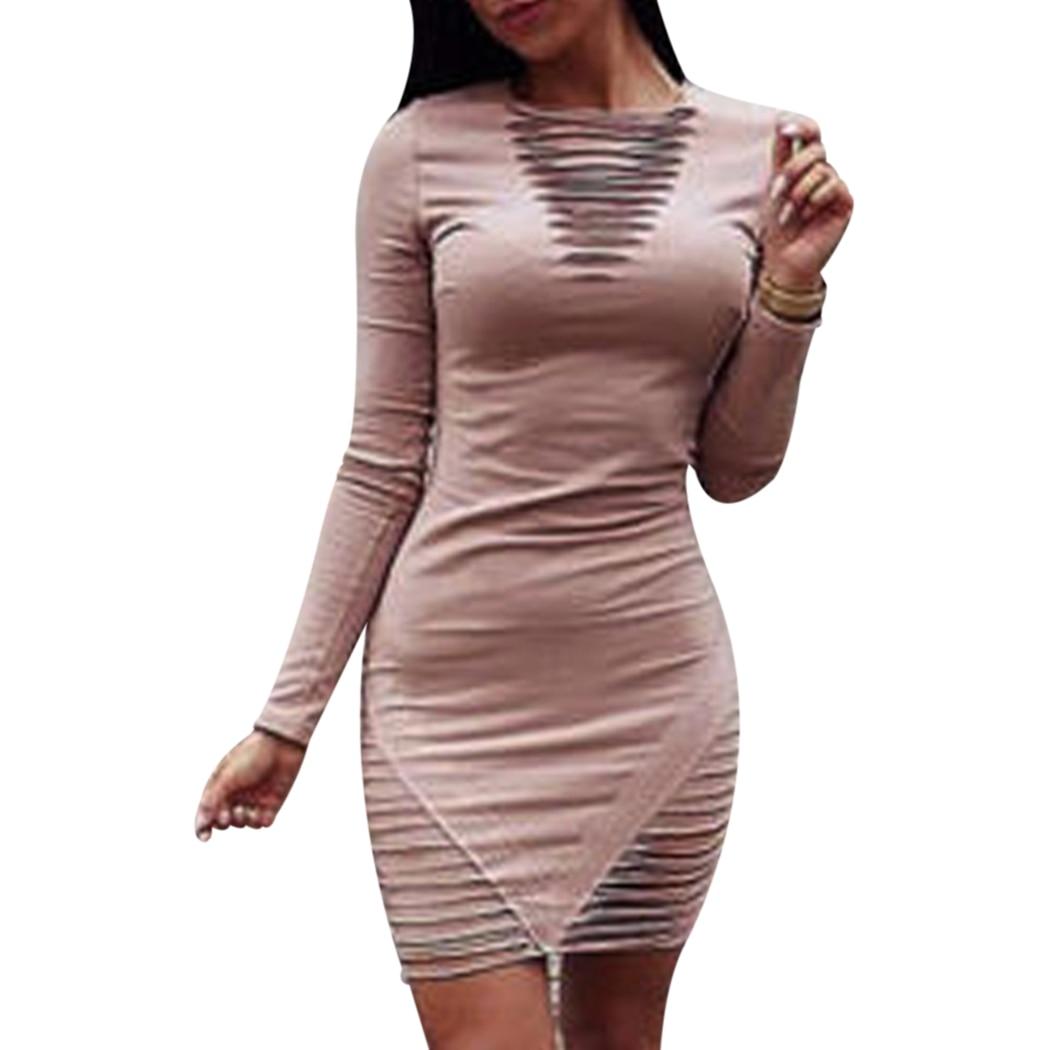 Новое Женское мини-платье со шнуровкой, зимнее мини-Розовое женское вечернее Клубное сексуальное платье с длинными рукавами, черное платье
