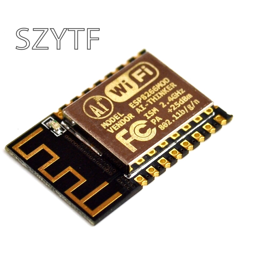 1PCS ESP-12F (ESP-12E Upgrade) ESP8266 Remote Serial Port WIFI Wireless Module ESP8266 4M Flash ESP 8266